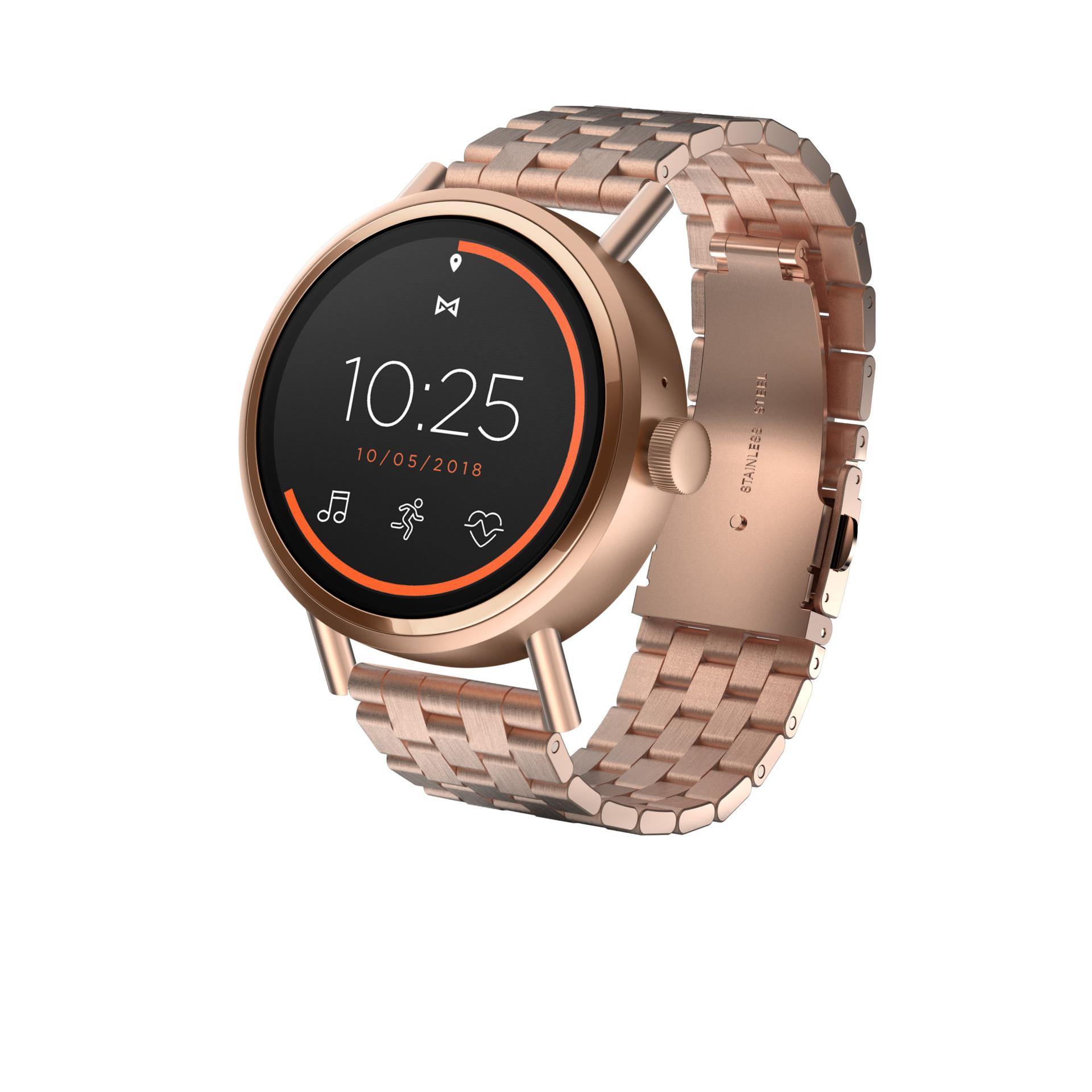 misfit vapor 2 smartwatch colors gold