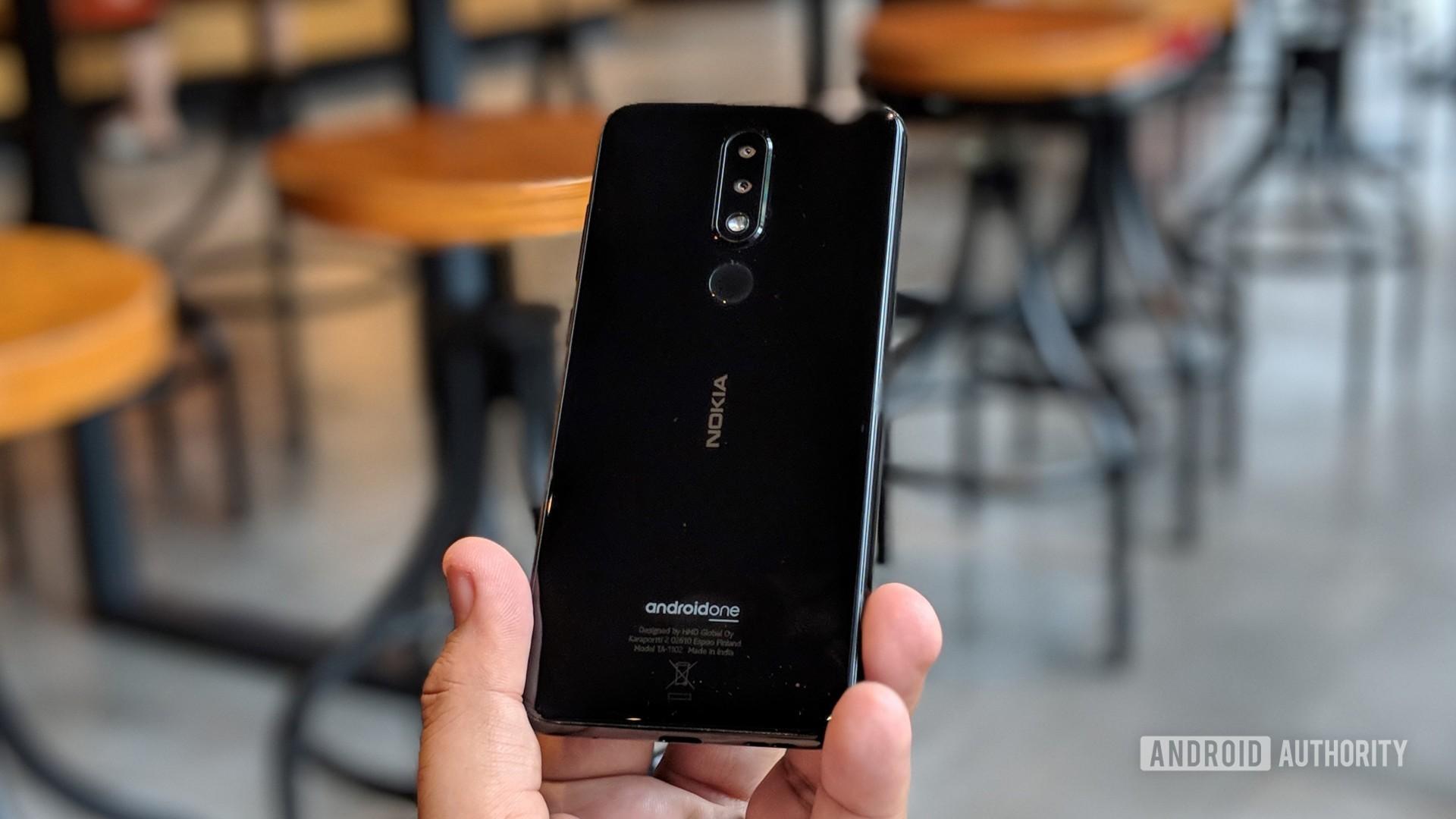 Nokia 5.1 Plus held in hand