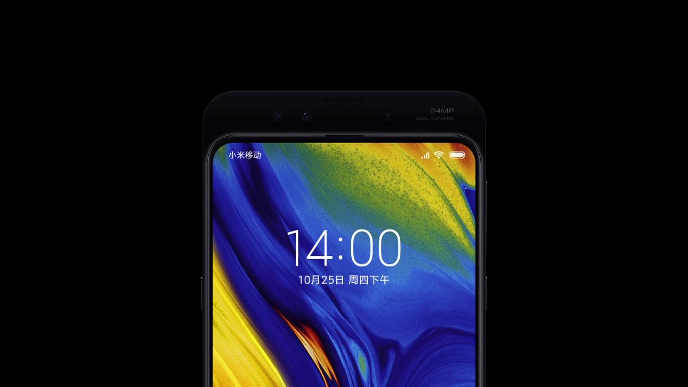 A closer look at the Xiaomi Mi Mix 3.