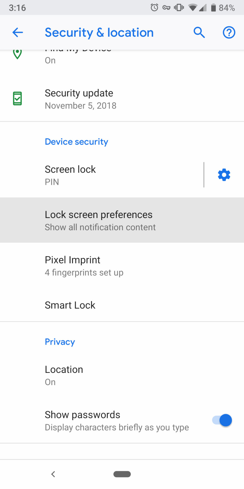 android pie lockdown mode security how to