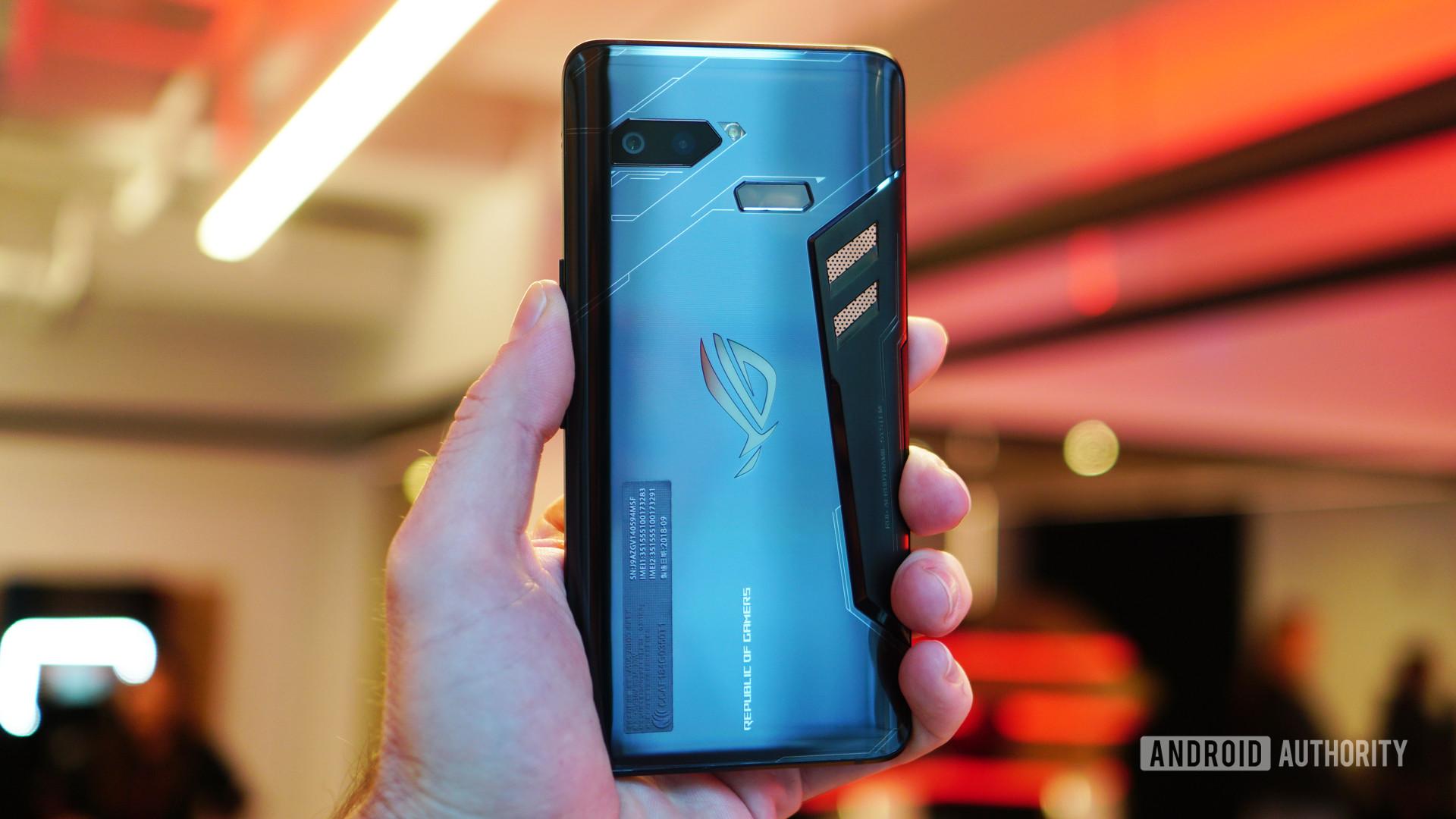 Asus ROG Phone in hand