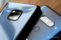 Huawei P20 Pro vs LG V40 cameras
