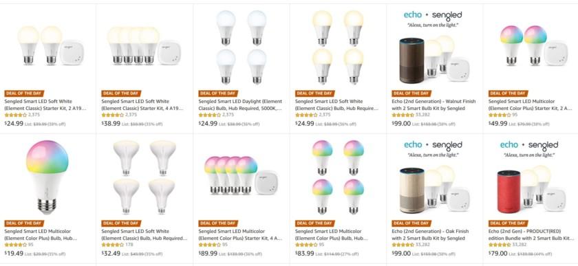 Amazon smart lighting offer