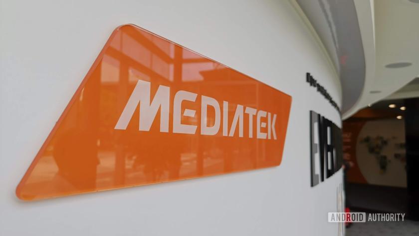 The MediaTek logo at the company's Hsinchu HQ - best mediatek phones