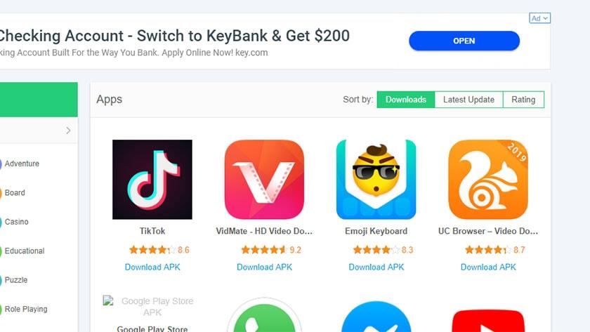 APKPure - best third party app stores