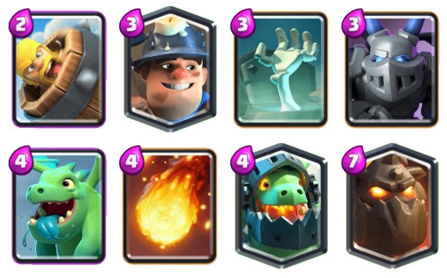 Javi14 Lava Miner good Clash Royale decks