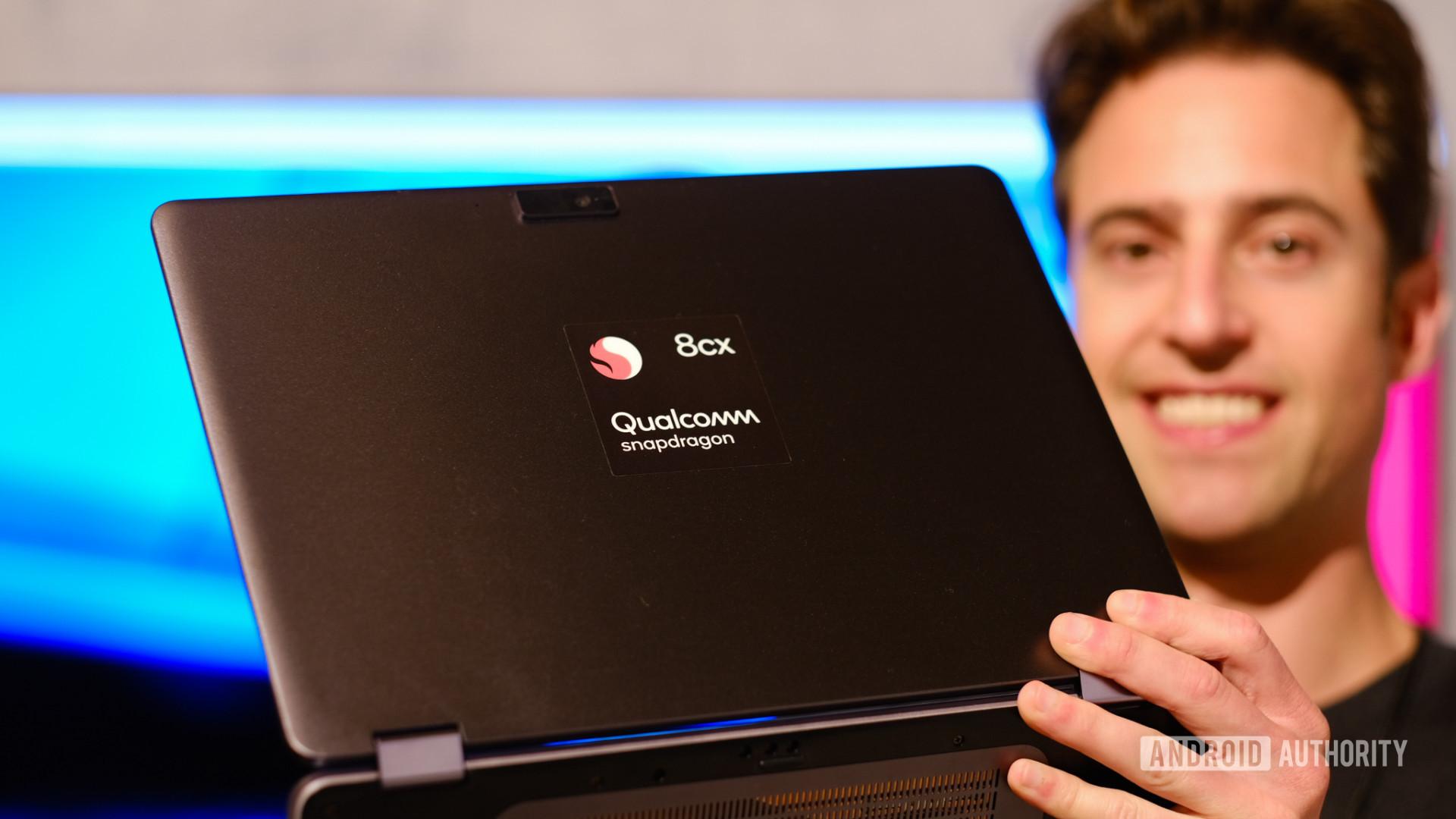 qualcomm 8cx powered laptop