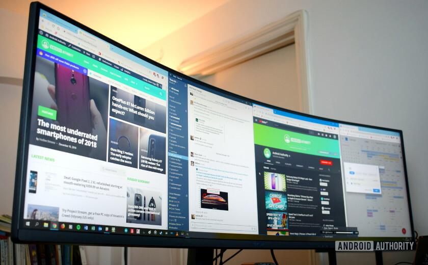 Samsung CJ89 Super Wide Screen Monitor