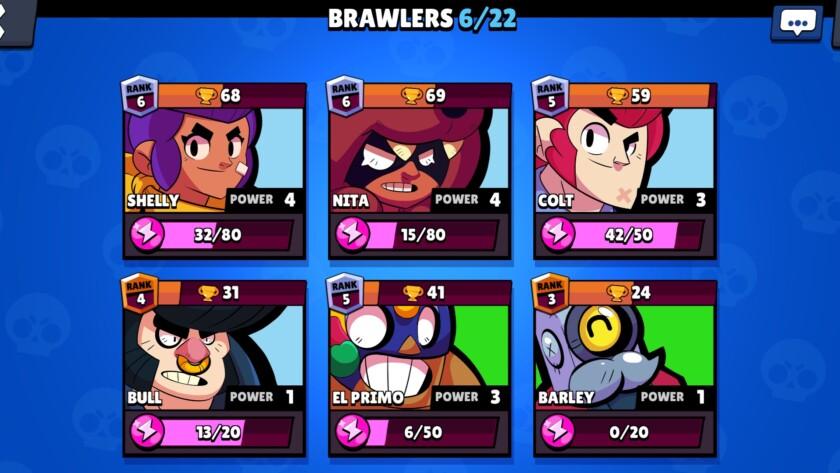Brawl Stars best brawlers