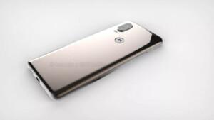 The back of the Motorola P30 successor.
