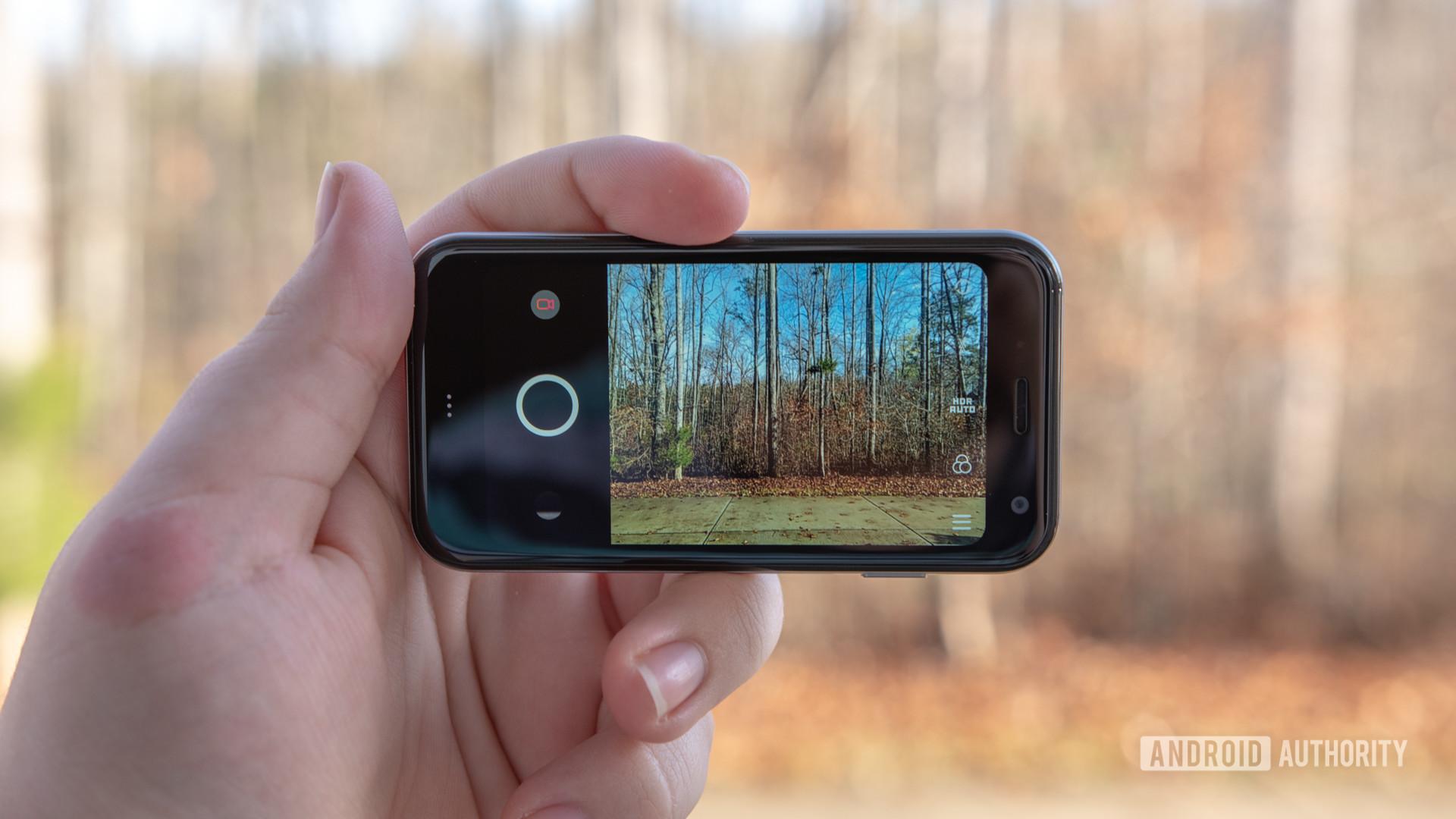 Palm Phone Review Camera App