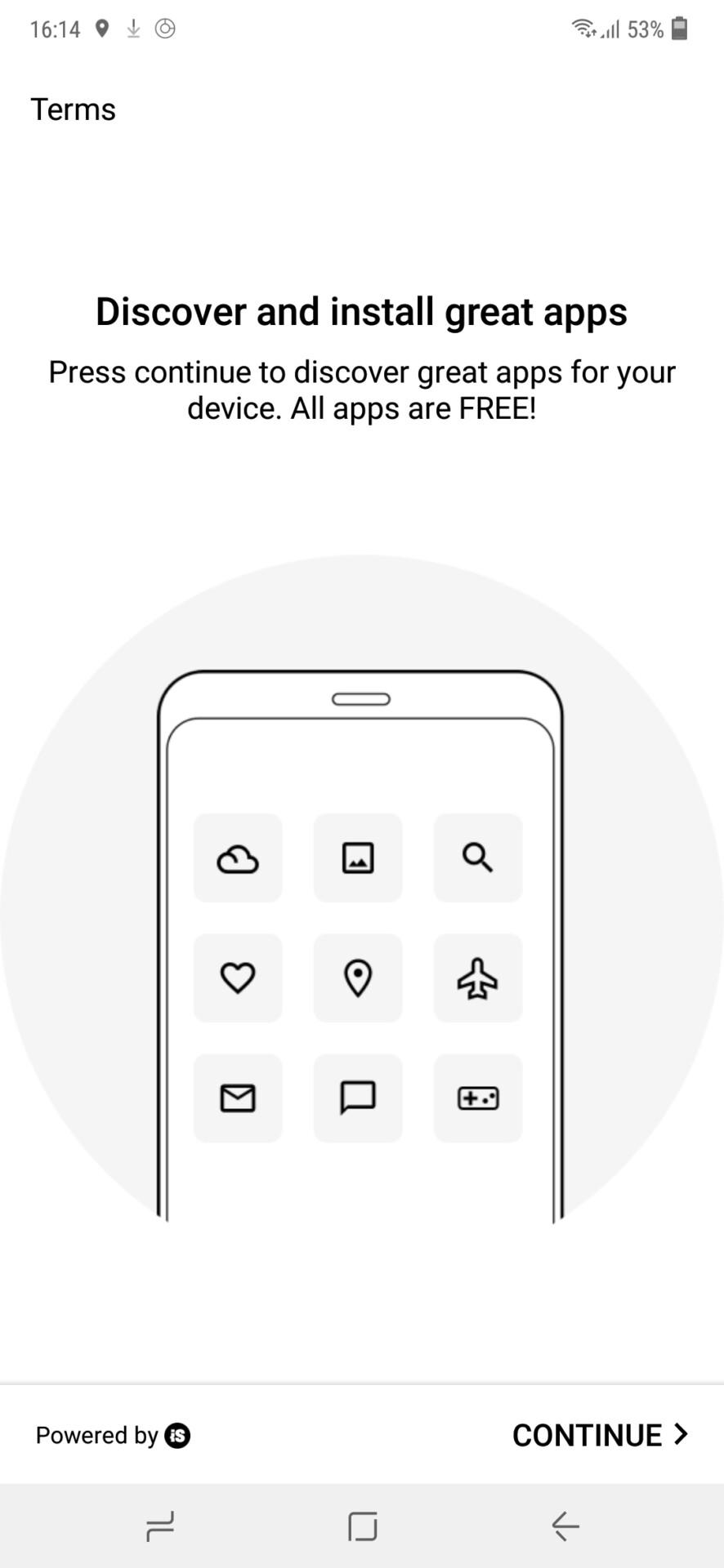 Samsung Galaxy M20 notifications