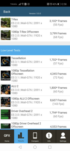 Honor View 20 benchmark results