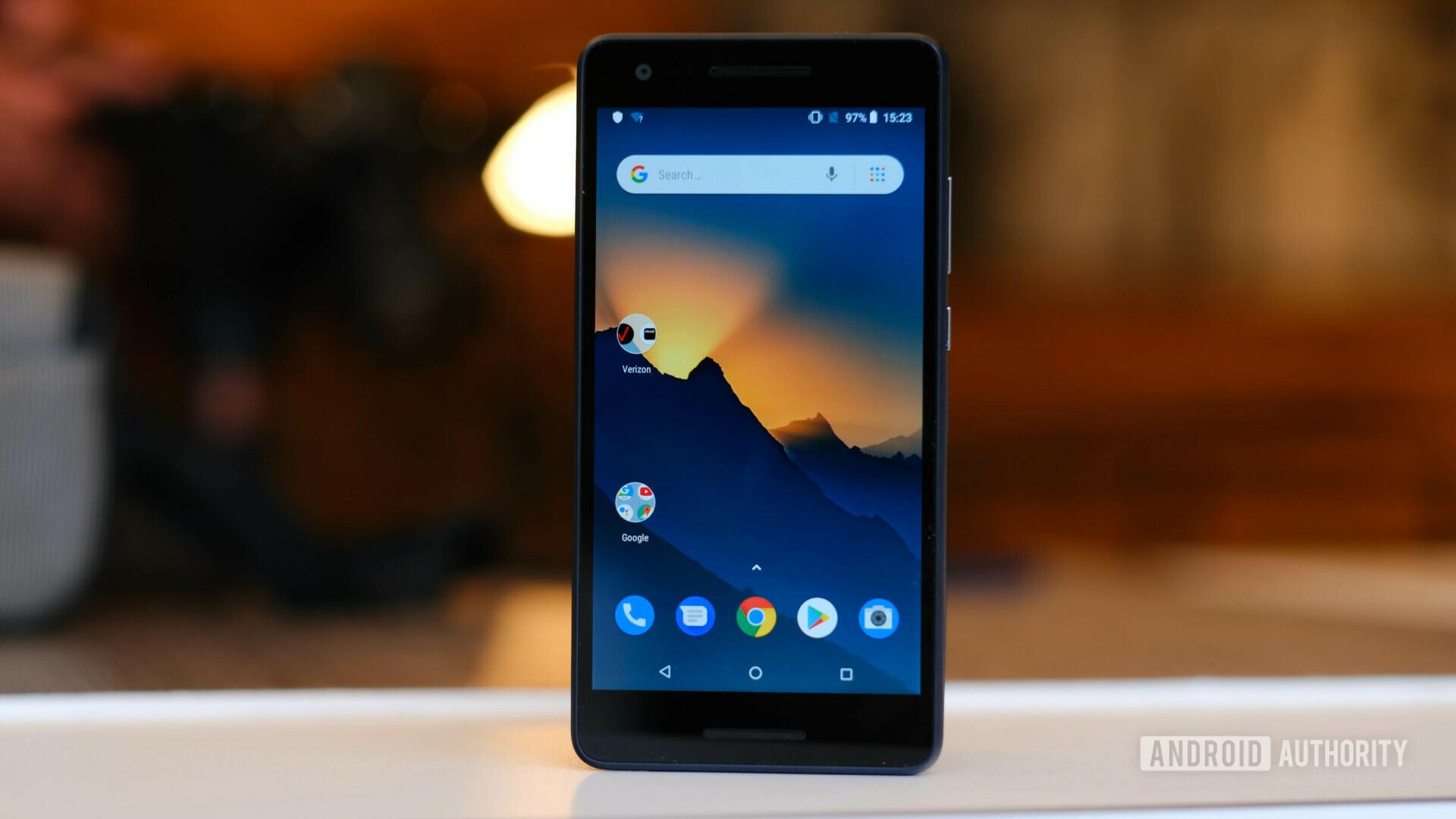 Nokia 2V display