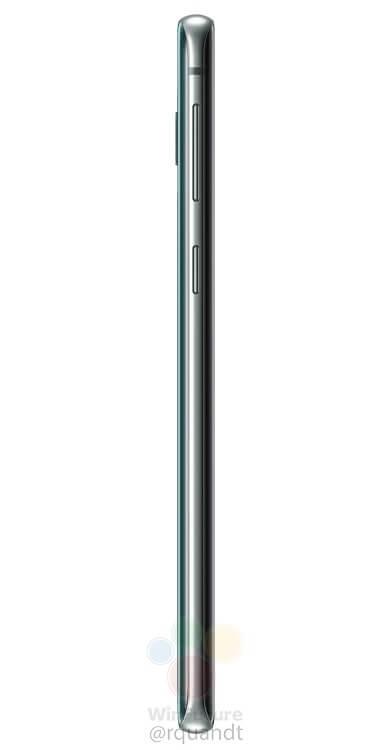 Galaxy S10 side angle