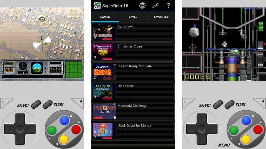 SuperRetro16 - best emulators for android
