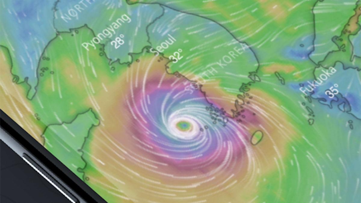 Windy best hurricane apps