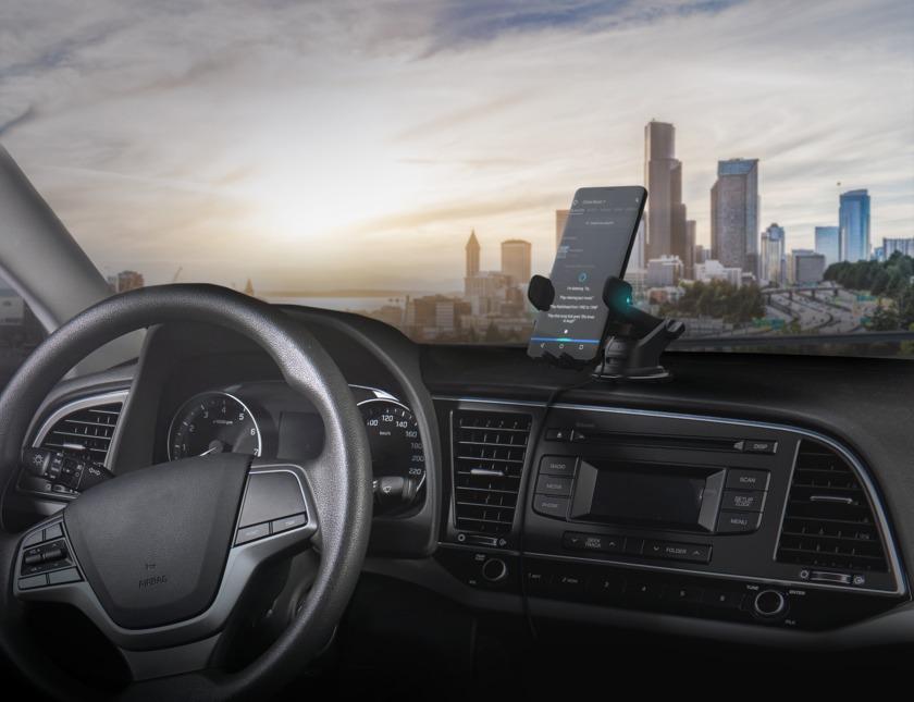 iOttie car mount with Alexa built-in