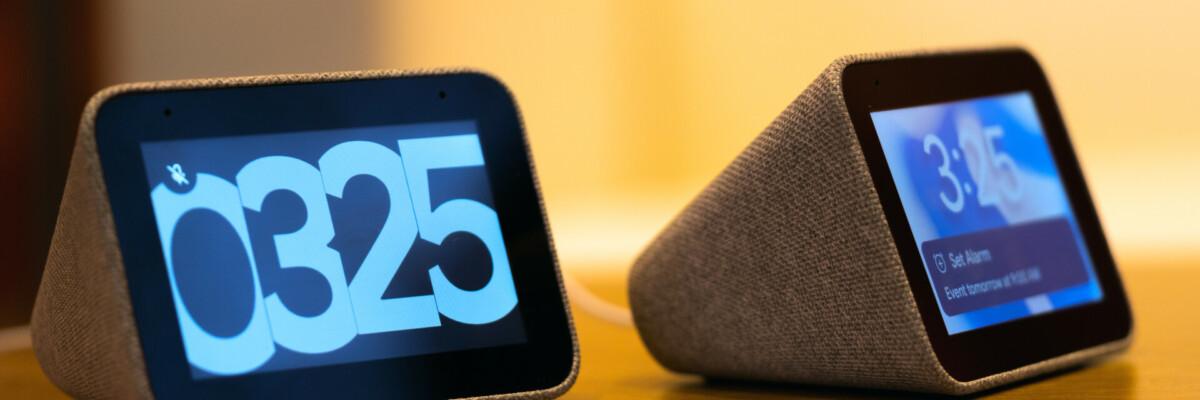 Lenovo Smart Clock available for pre-order, cheaper than the Nest Hub