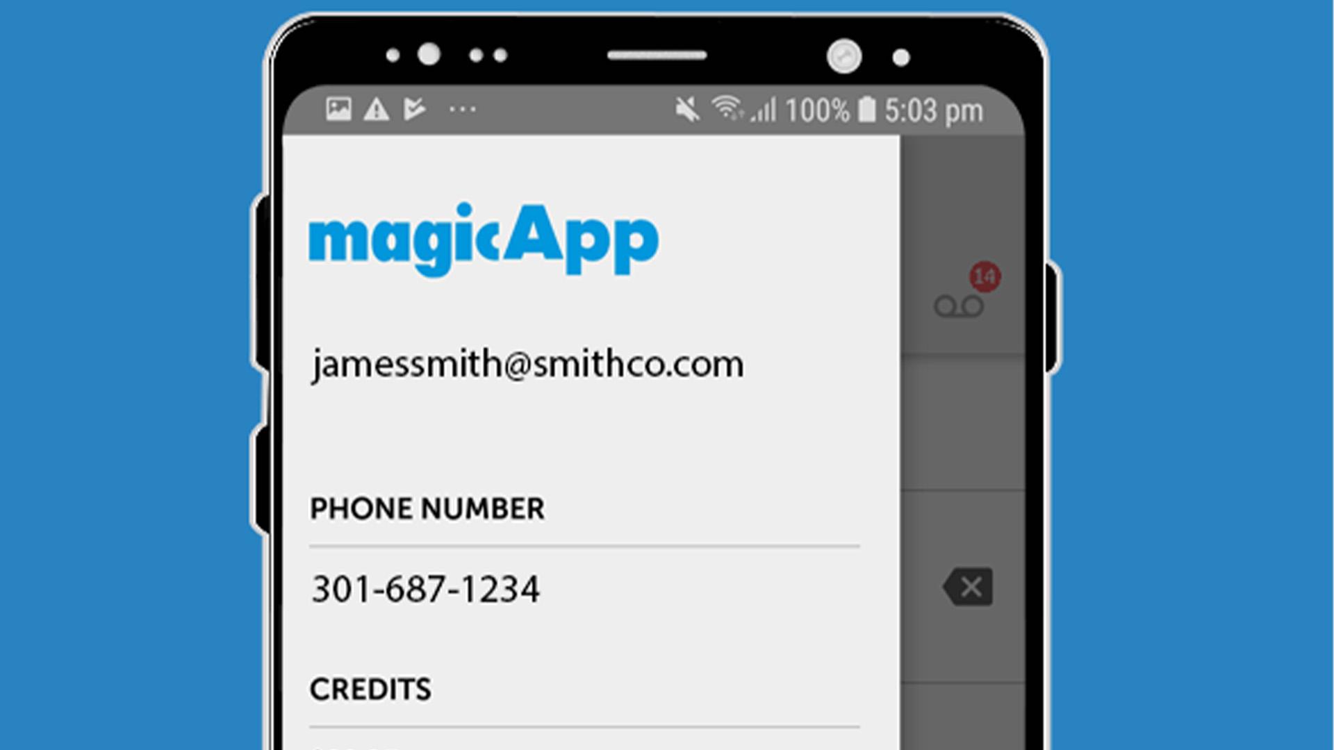magicApp screenshot 2020