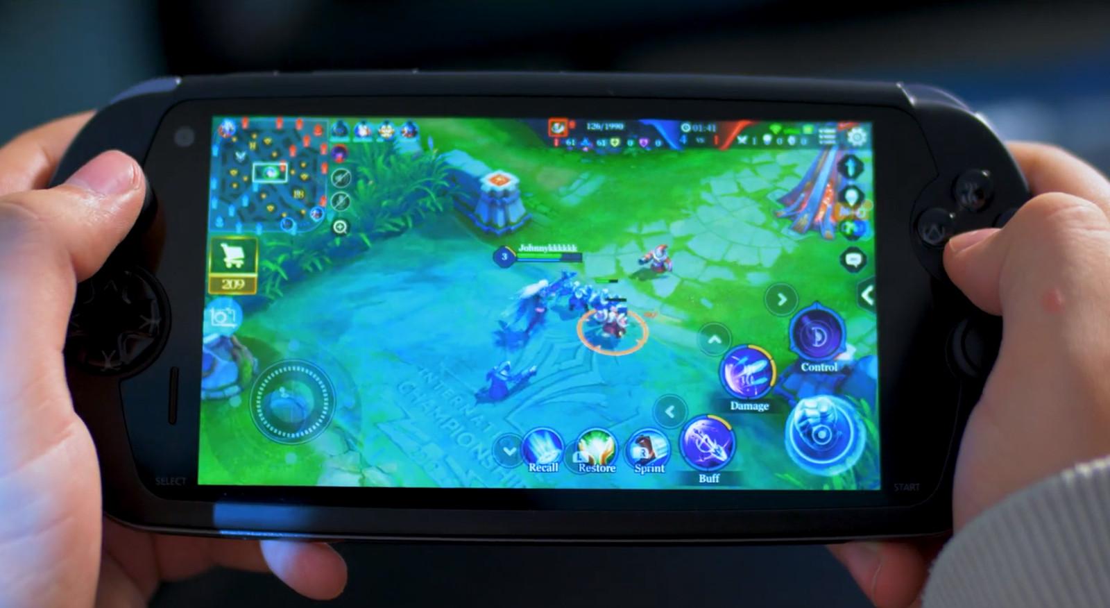 This PS Vita-like gaming phone packs 6,000mAh battery, physical controls