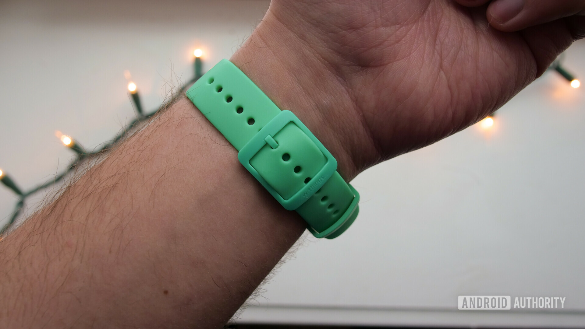 withings move review watch fitness tracker black mint band