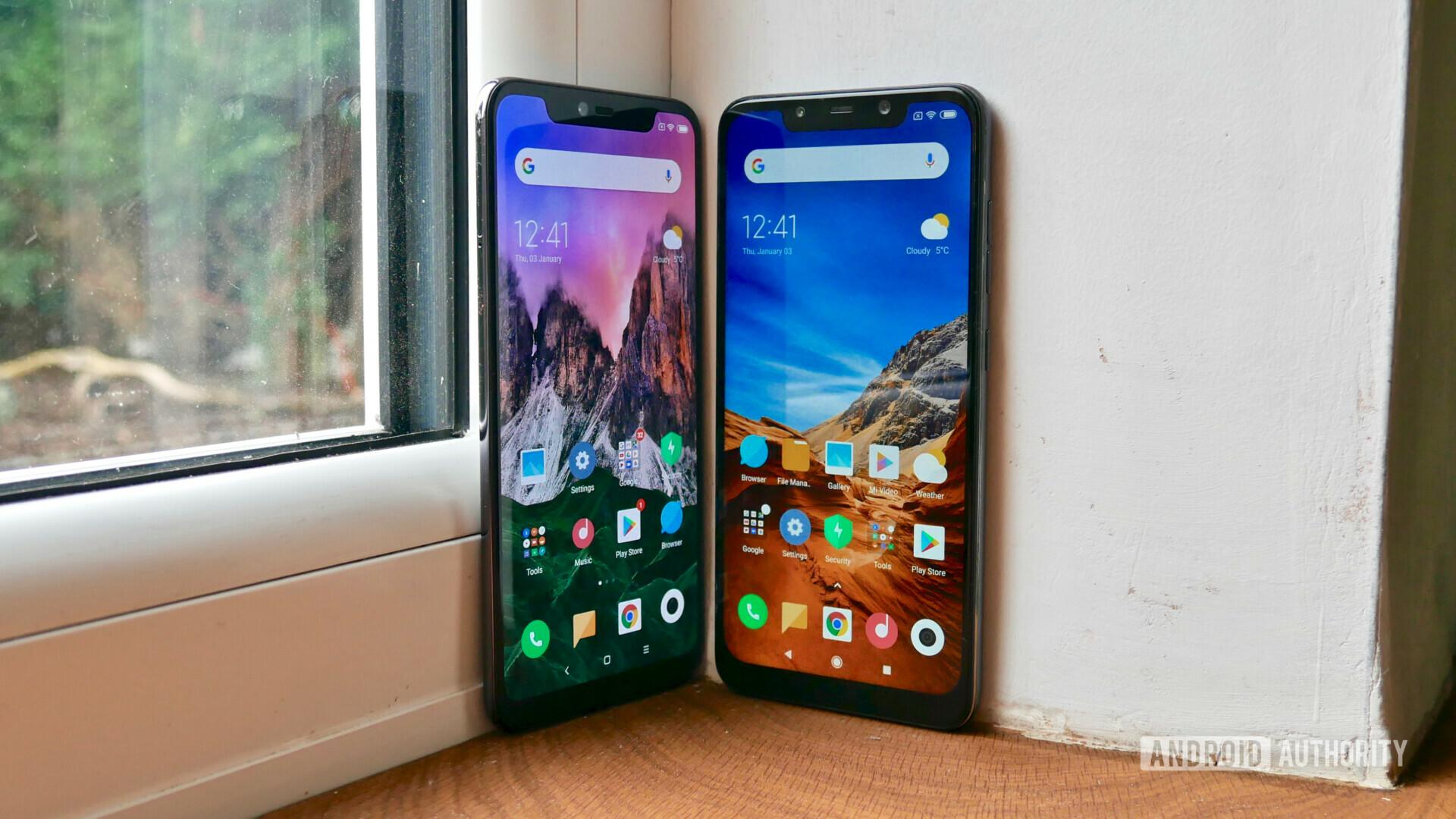 Xiaomi Mi 8 Pro vs Pocophone F1