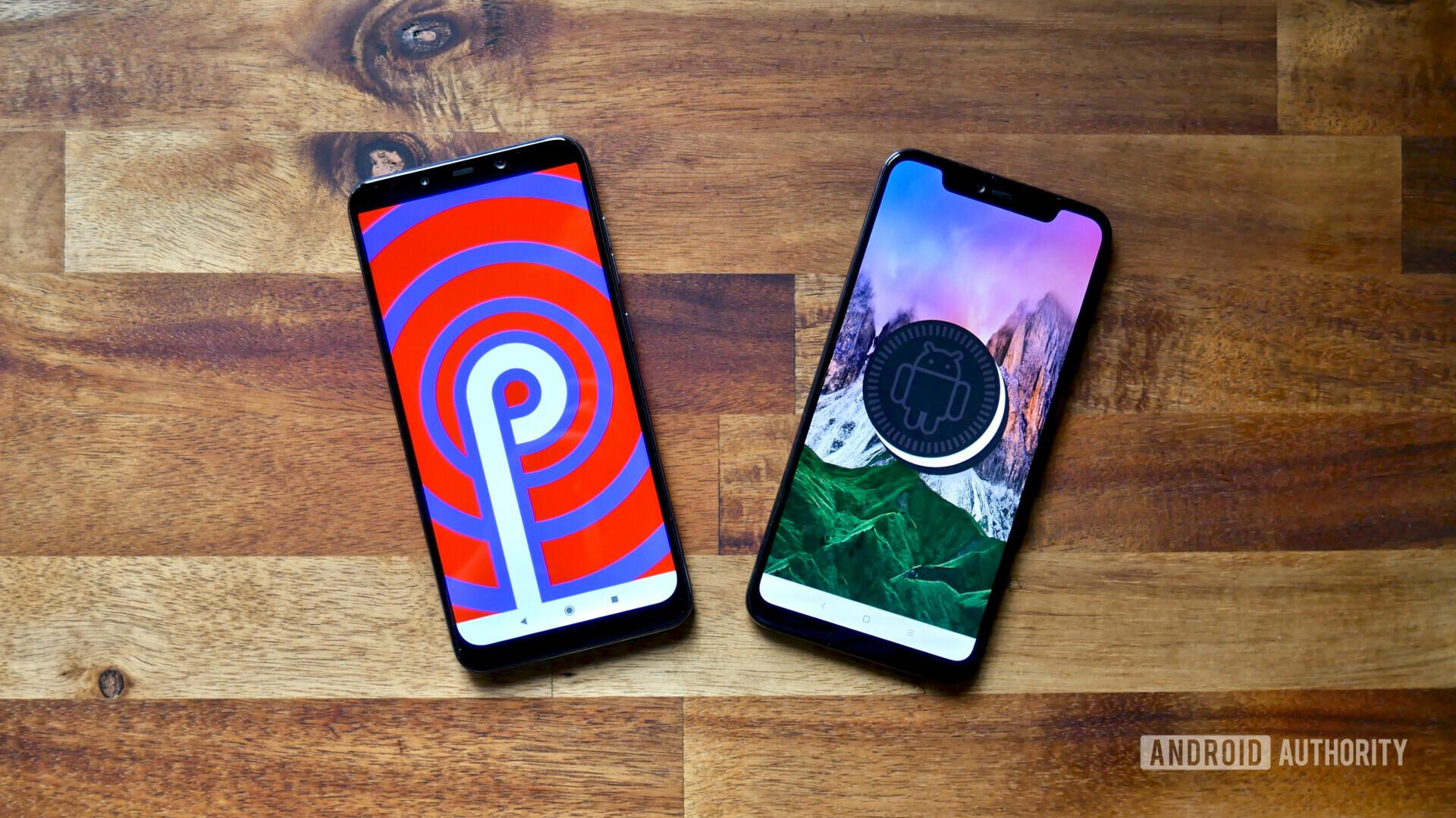 Xiaomi Mi 8 Pro vs Pocophone F1 Android