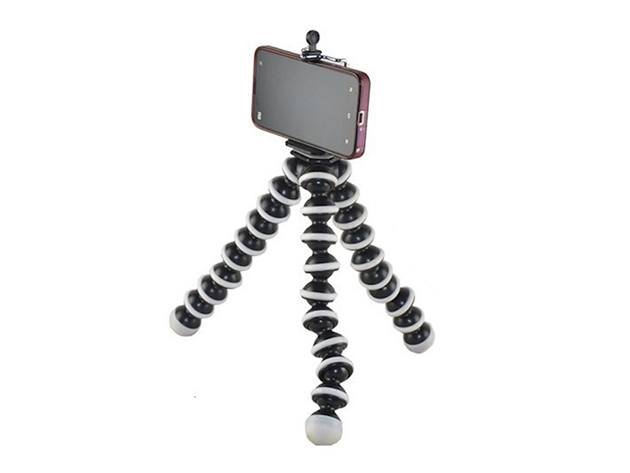 Flexible Tripod for Smartphones and Cameras