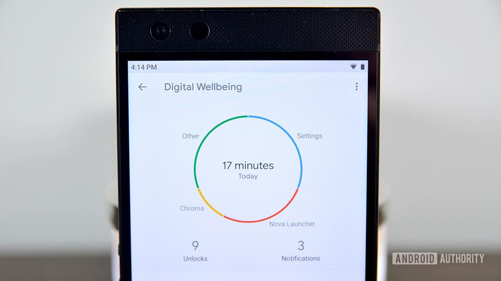 Digital Wellbeing on the Razer Phone 2