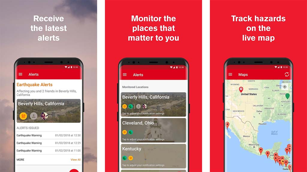 American Red Cross - best earthquake apps for android