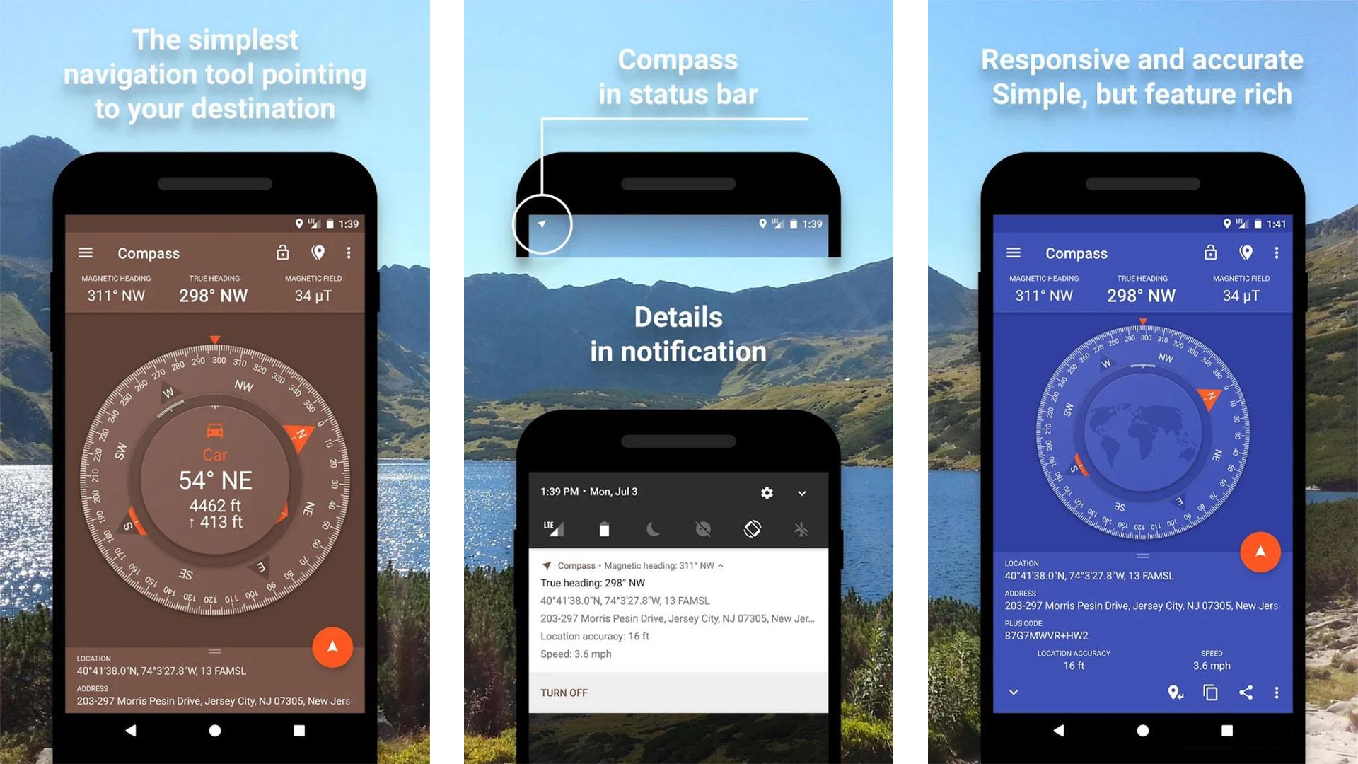 Fulmine Software Compass screenshot