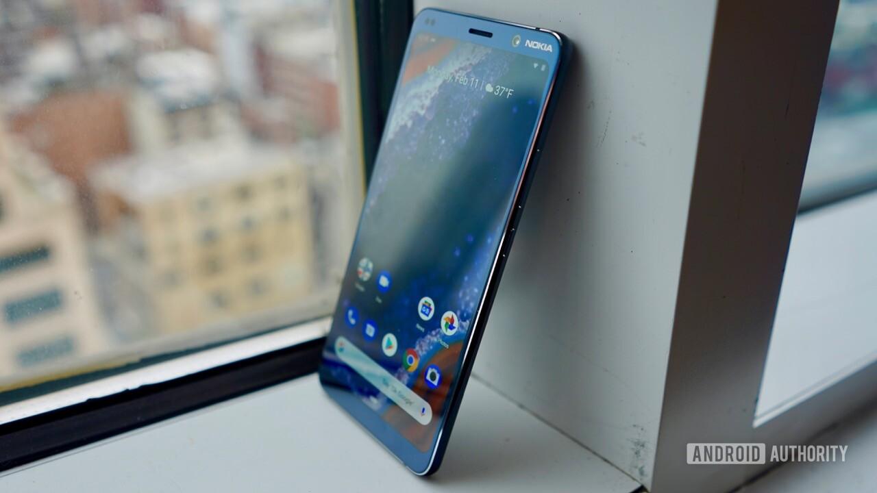 Nokia 9 screen