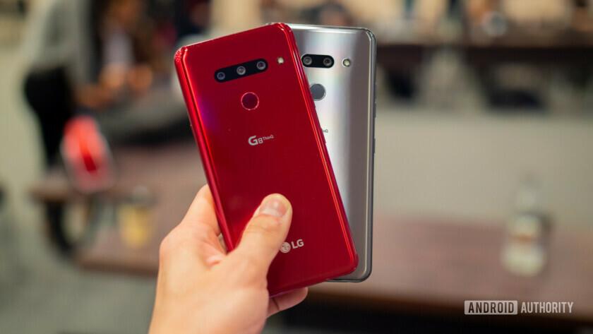 LG G8 ThinQ and LG G8s ThinQ rear panels