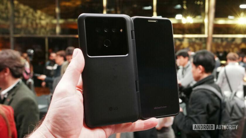 LG V50 ThinQ 5G dual display case back