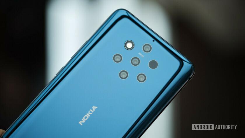Nokia 9 five cameras