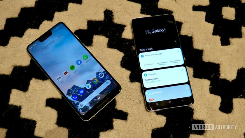 Samsung Galaxy S10 Plus vs Google Pixel 3 XL