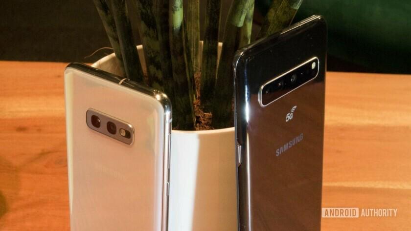 Samsung Galaxy S10e and Samsung Galaxy S10 5G