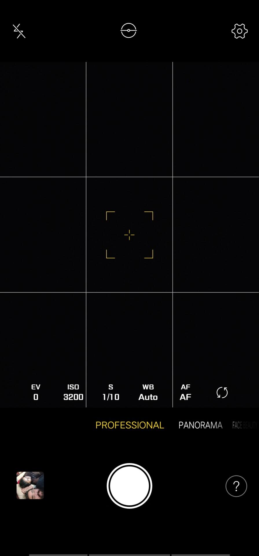 Vivo Nex S default professional screen