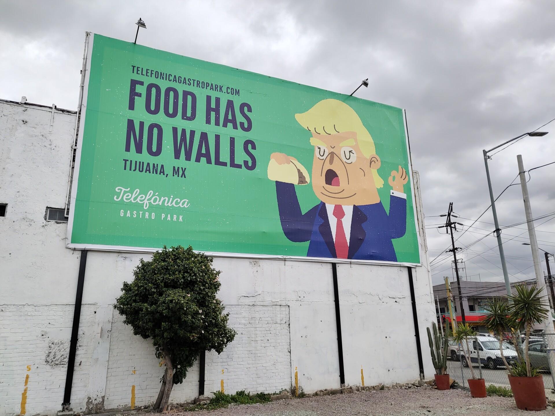 Vivo Nex S daylight sample photo of a billboard