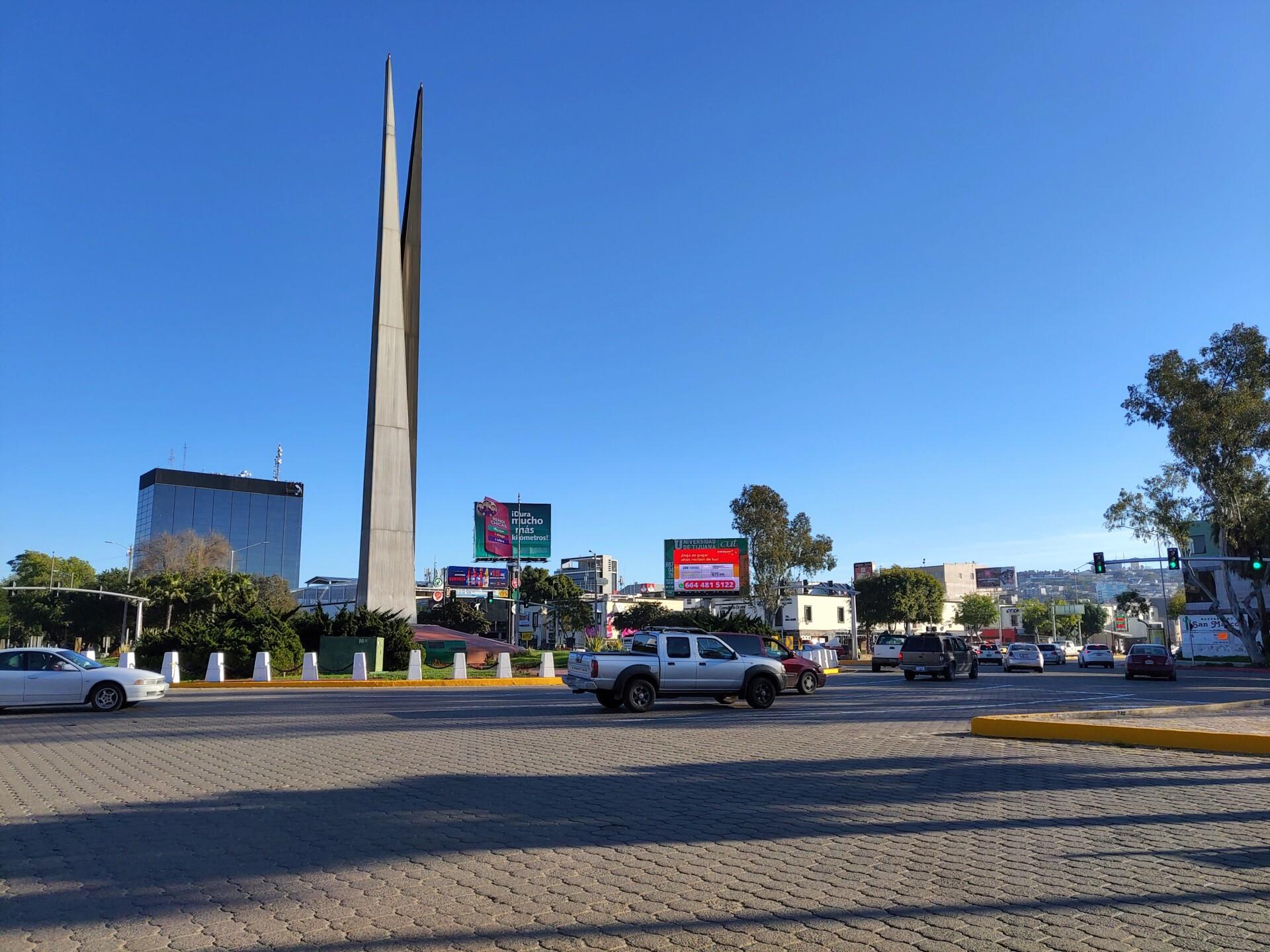 Vivo Nex S daylight sample photo of a city landscape