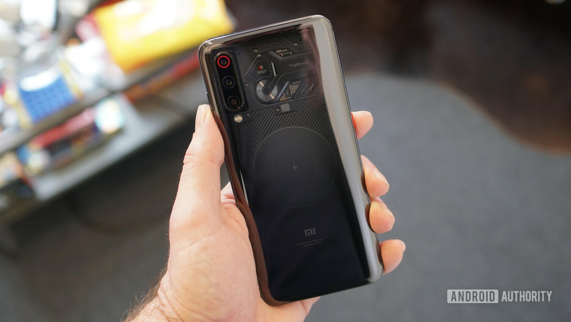 Xiaomi Mi 9 transparent edition back panel