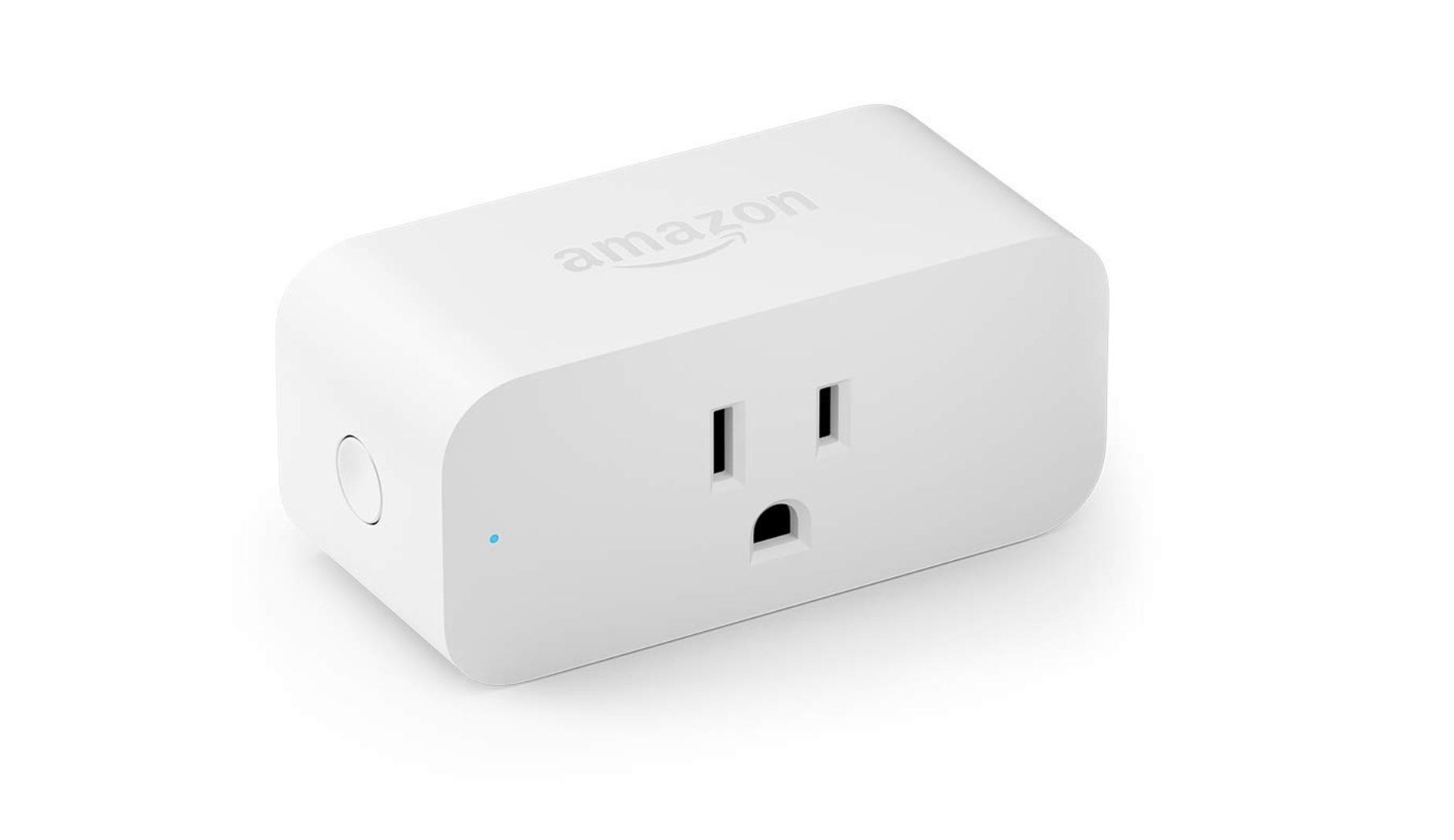 An Amazon Smart Plug Alexa device