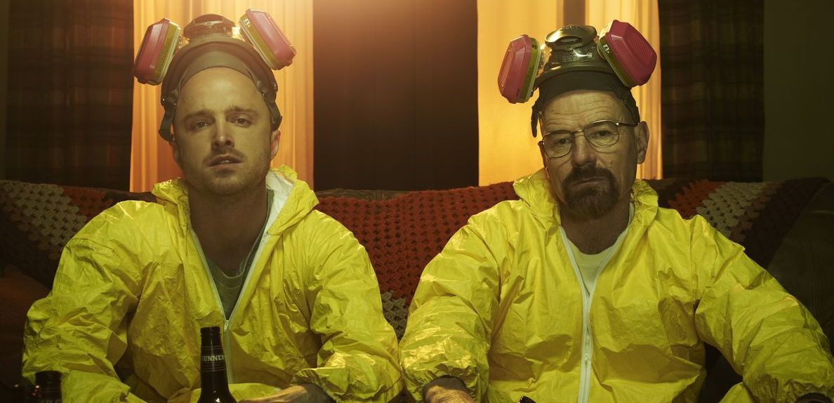 The main characters of Breaking Bad - One of the best TV shows on Netflix