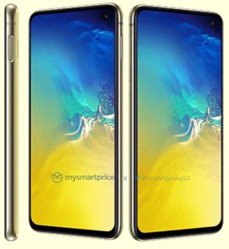 The Samsung Galaxy S10e.