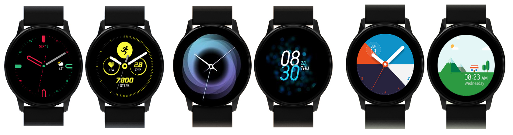 fc48f383dd6 Samsung Galaxy Watch Active specs leak  AMOLED display and no ...
