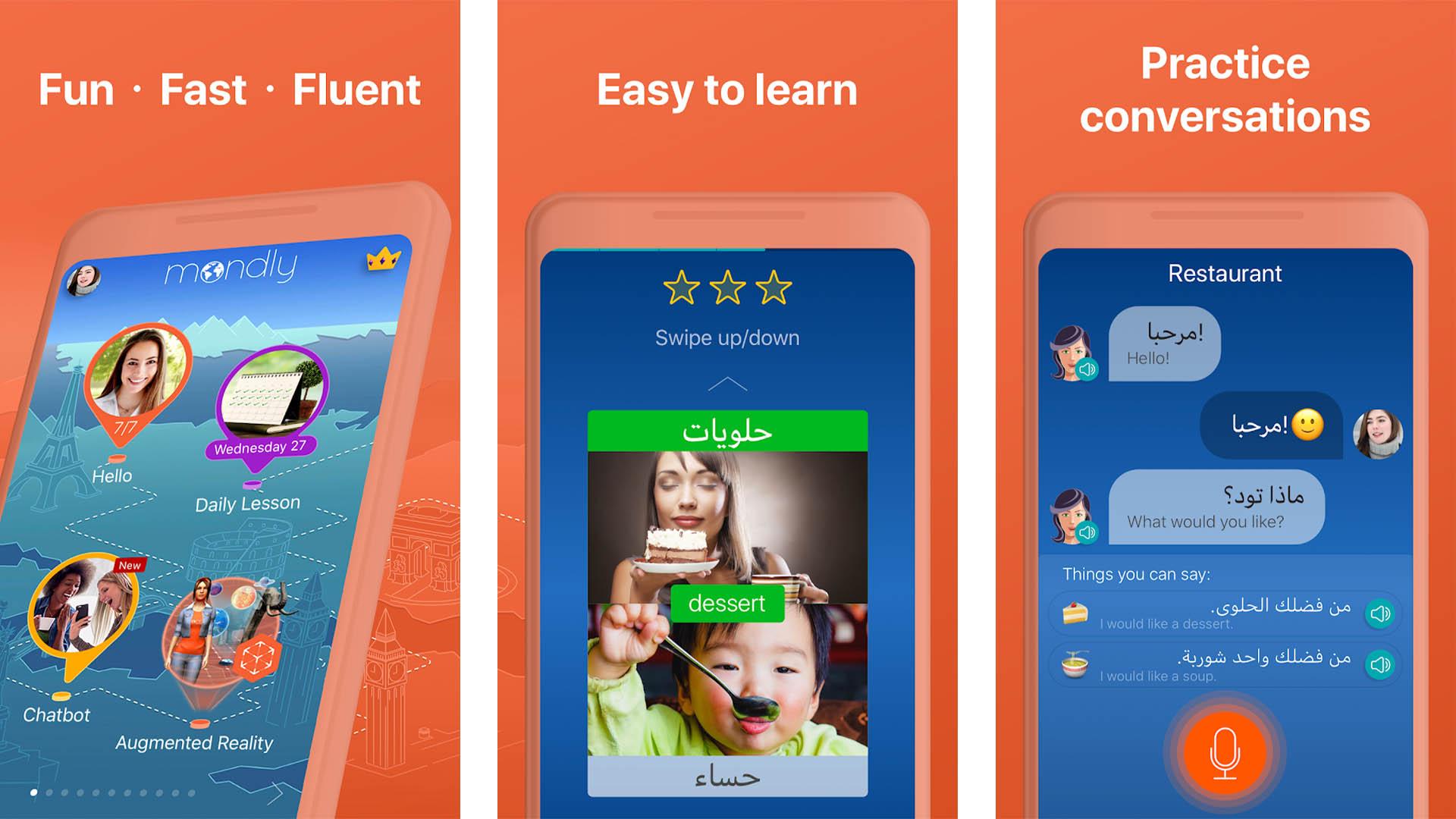 Arabic Mondly screenshot 2020