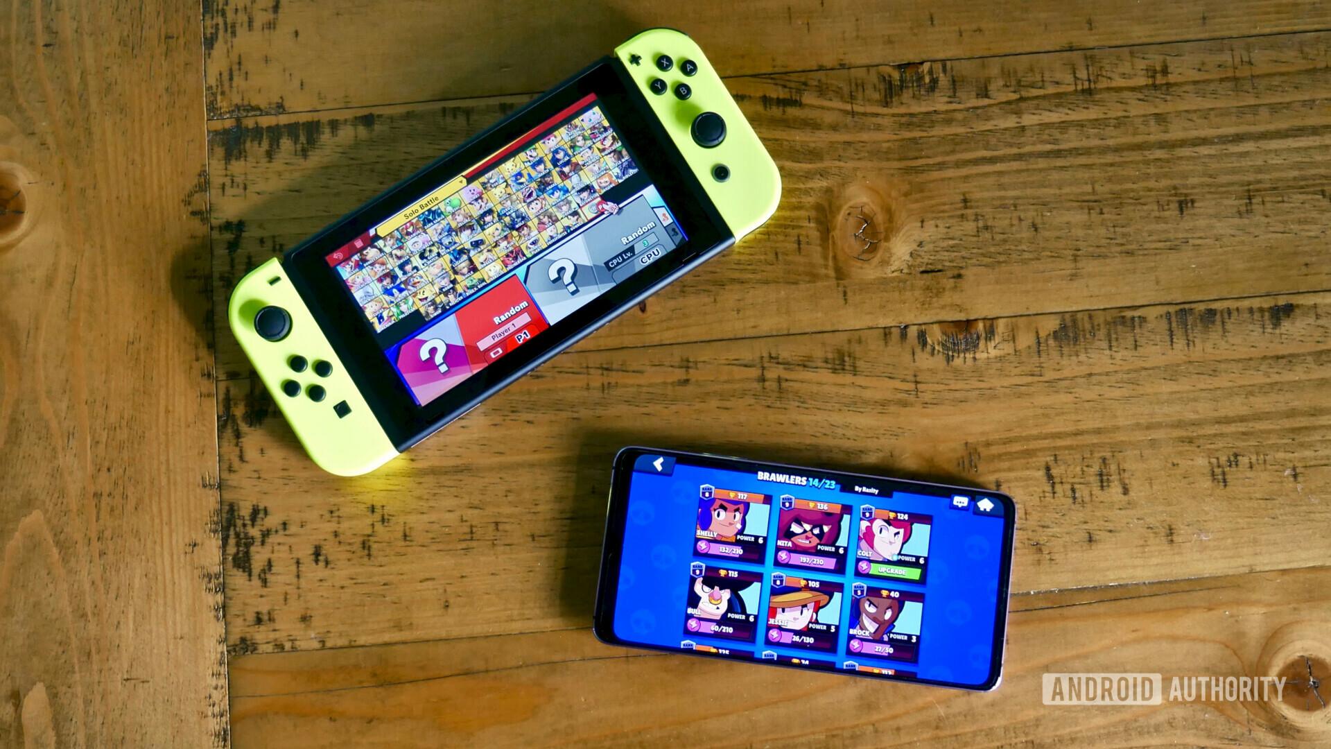Huawei Mate 20 X vs Nintendo Switch