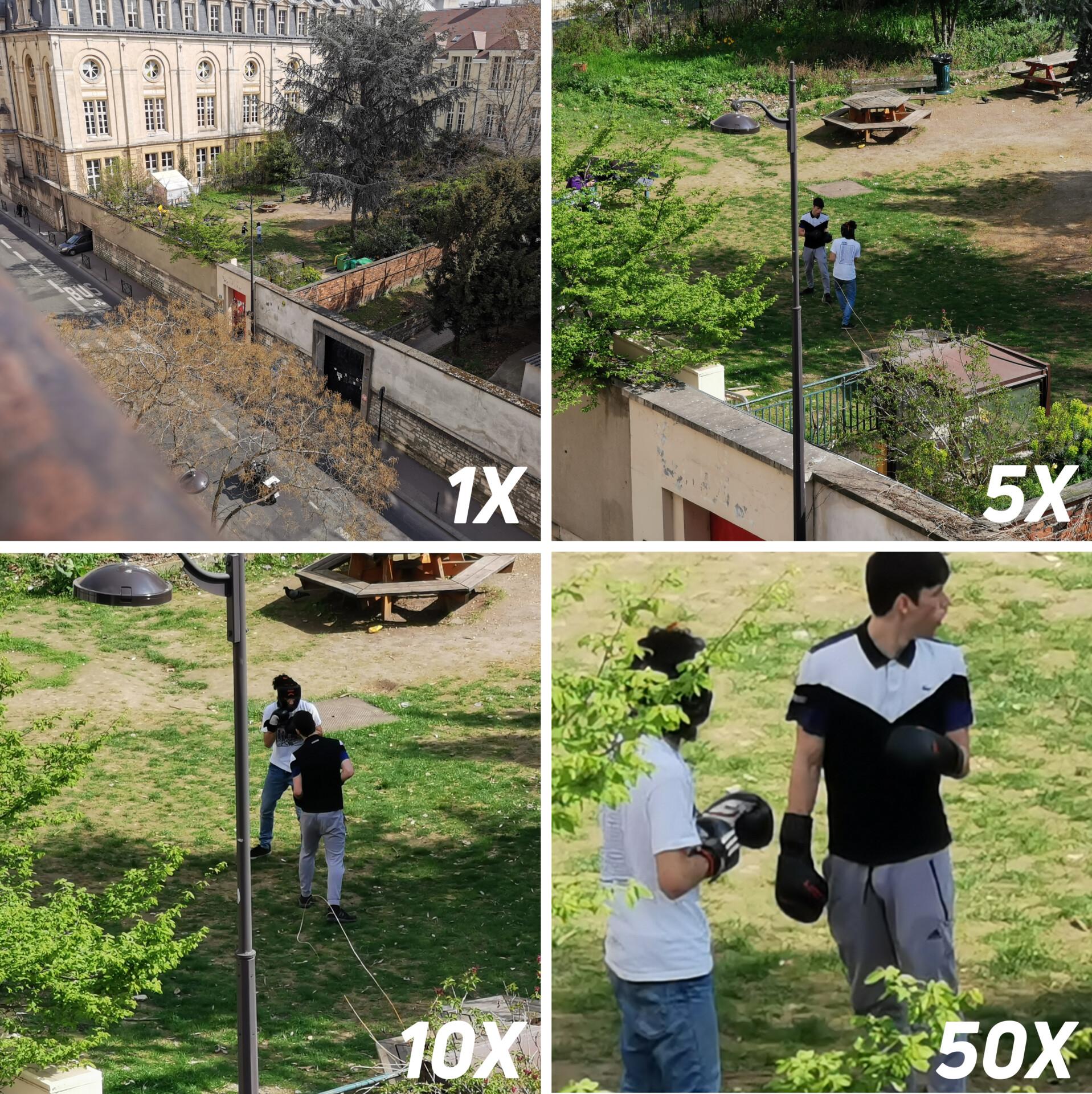 huawei p30 pro outdoor zoom 1x, 5x, 10x, 50x camera samples
