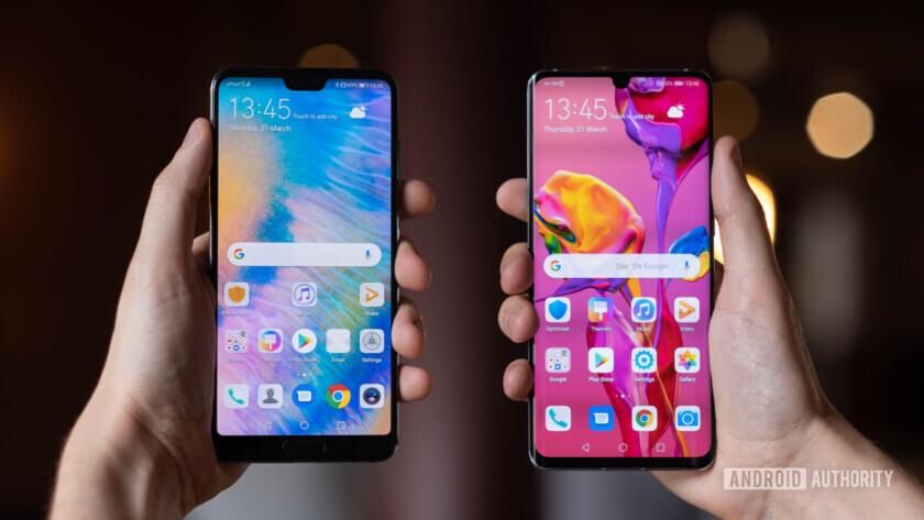 Huawei P30 Pro vs Huawei P20 Pro front (18 of 60)